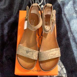 Miz Mooz sandals. Size 41. I wear a 10 they fit me